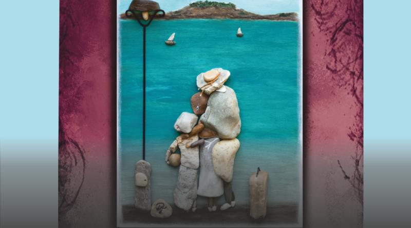 A kő lelke – Papp Tímea kavicskép kiállítása