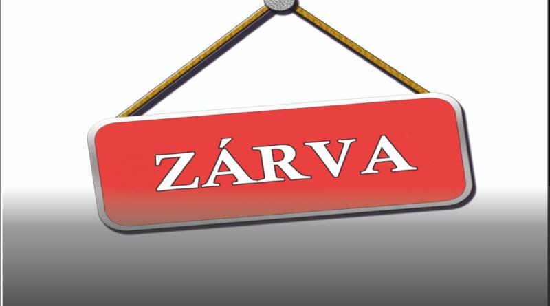 2019. január 18-án minden intézményegységünk ZÁRVA!