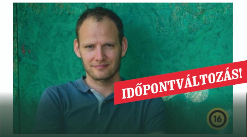 Bödőcs Tibor – Kolera a Vackor csoportban -stand-up est IDŐPONTVÁLTOZÁS !